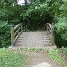 本丸二の丸間の太古橋