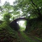 堀切から見た太古橋