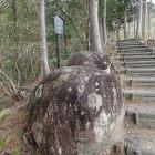 登城路中の夫婦岩