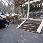 諏訪神社駐車場