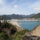 出丸からの眺望熊野川