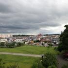 園城寺付近の公園からの眺望