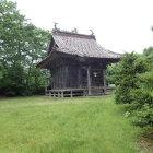 本丸にある三吉神社