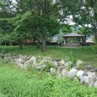 坂本城址公園石垣