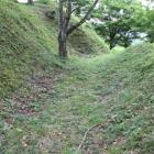 同左続切岸と堀