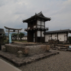 豊磐井と復元城門