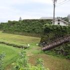 二の丸北側石垣