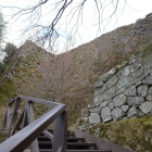 大手門手前の石垣