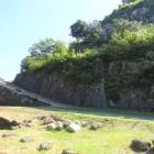 二ノ丸から見た本丸側の石垣