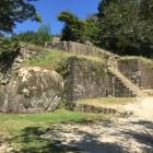 大矢倉跡の石垣