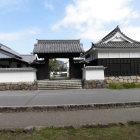 二の丸の移築裏門と櫓