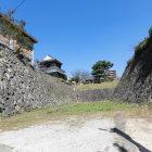 堀と石垣と鬼門櫓