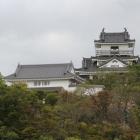 今日の浜松城、東向き、二の丸跡より