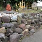 同左東面の石垣