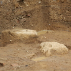 二の丸御殿礎石