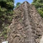武田神社鳥居前の石垣