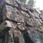 中ノ門跡の見事な石垣