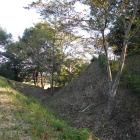 空堀(横から)