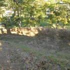 空堀(本丸から)