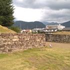 復元石場門