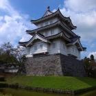 復興された三階櫓