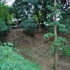 本丸横の堀