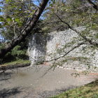 巽櫓跡下の堀
