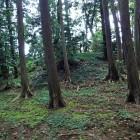 北西側の土壇