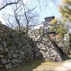 東小天守跡下の石垣