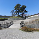 木橋搦手二の門天守閣