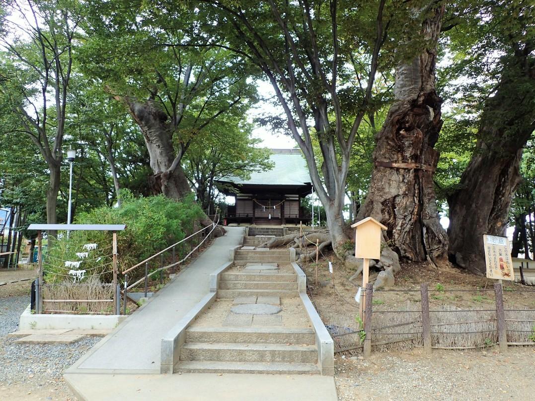 日吉神社正面
