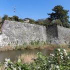 高石垣と水堀