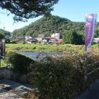 行徳岩への階段