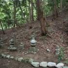 京極氏奥方達の墓地