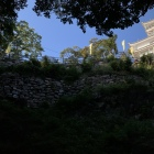 天守直下の信長時代の石垣
