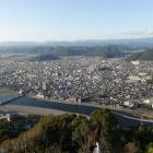 斎藤道三が隠居した鷺山城(左端)