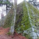 本丸天守台の高石垣