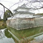 復元櫓と水堀