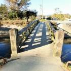 朝倉川に架かる橋