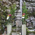 西教寺の明智熙子の墓