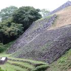 本丸直下の石垣