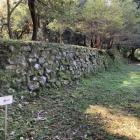 御殿跡の石垣