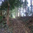 主郭への登り道