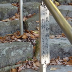 観音正寺に向かう石段にあるありがたい箴言