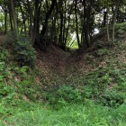 北二の郭の横堀