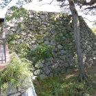 天守台下の石垣