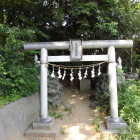 富士見稲荷神社鳥居