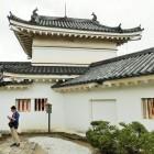二の門櫓(写真に写っているのは次男ではありません)