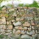 不明門の石垣