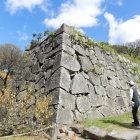 本丸表御門跡付近の石垣